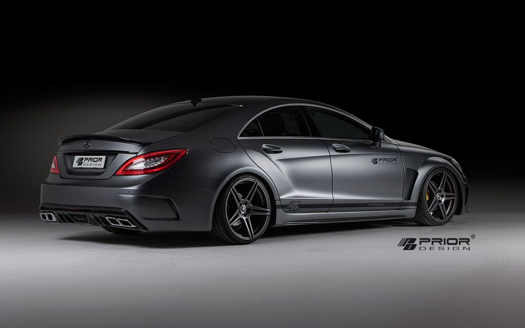PRIOR-DESIGN PD550 Black Edition Aerodynamic-Kit for Mercedes CLS [W218] - PRIOR-DESIGN Exclusive Tuning