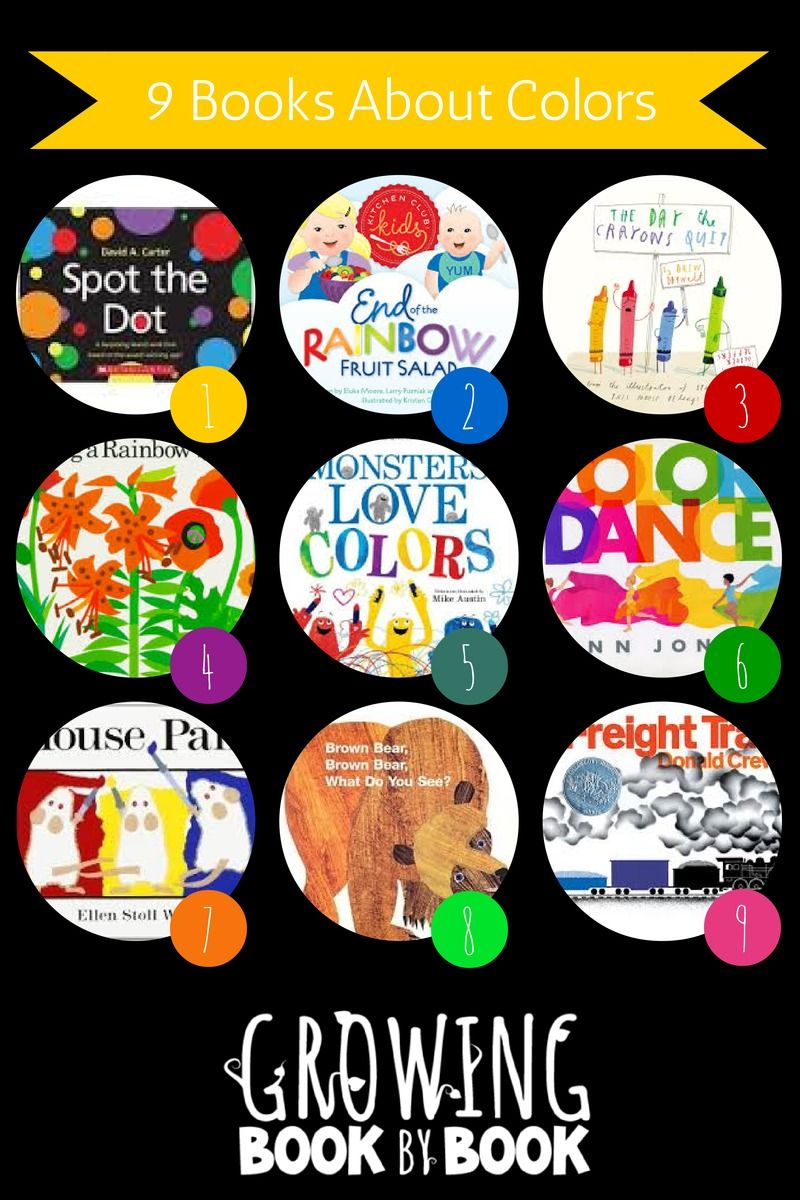 Books about color for kids - Books About Colors Are Perfect For Learning About Colors And Color Mixing Recommended By Growingbookbybook