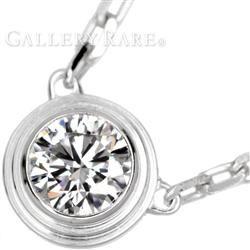 カルティエ ネックレス ディアマン レジェ ドゥ LM 1Pダイヤ ダイヤモンド K18WGホワイトゴールド B7215400 Cartier ジュエリー ペンダント ダイアモンド