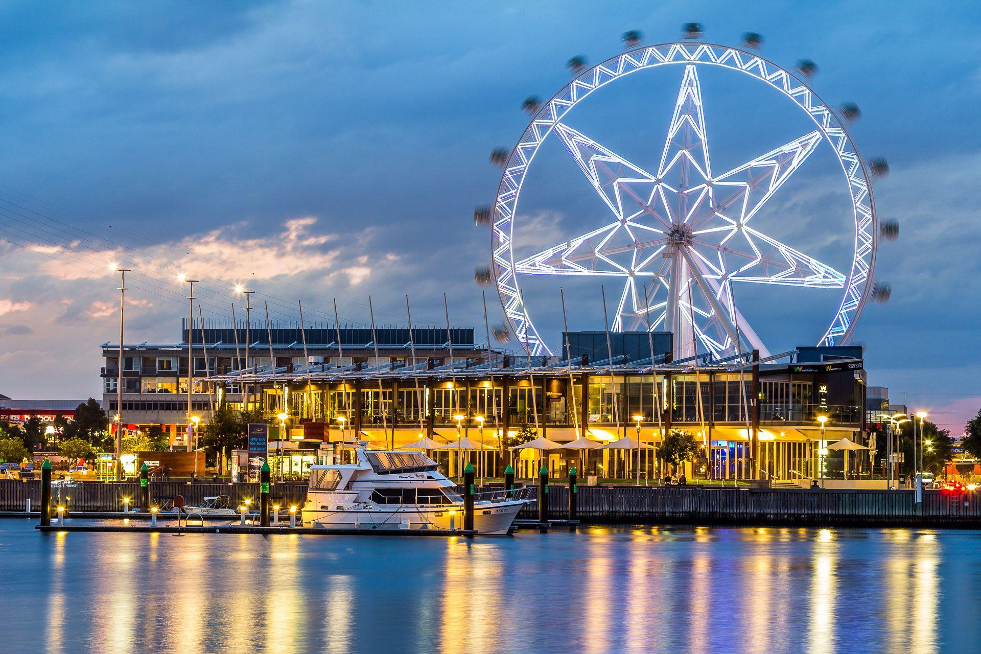 Melbourne Star Observation Wheel Melbourne stars