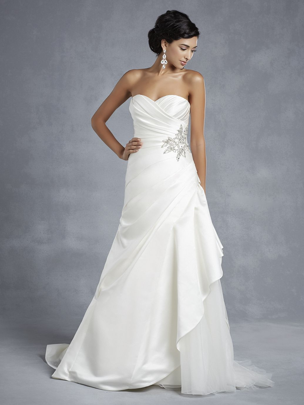 43 ENZOANI BEAUTIFUL BT1511 IVORY SZ 12 800 FORMAL OUR