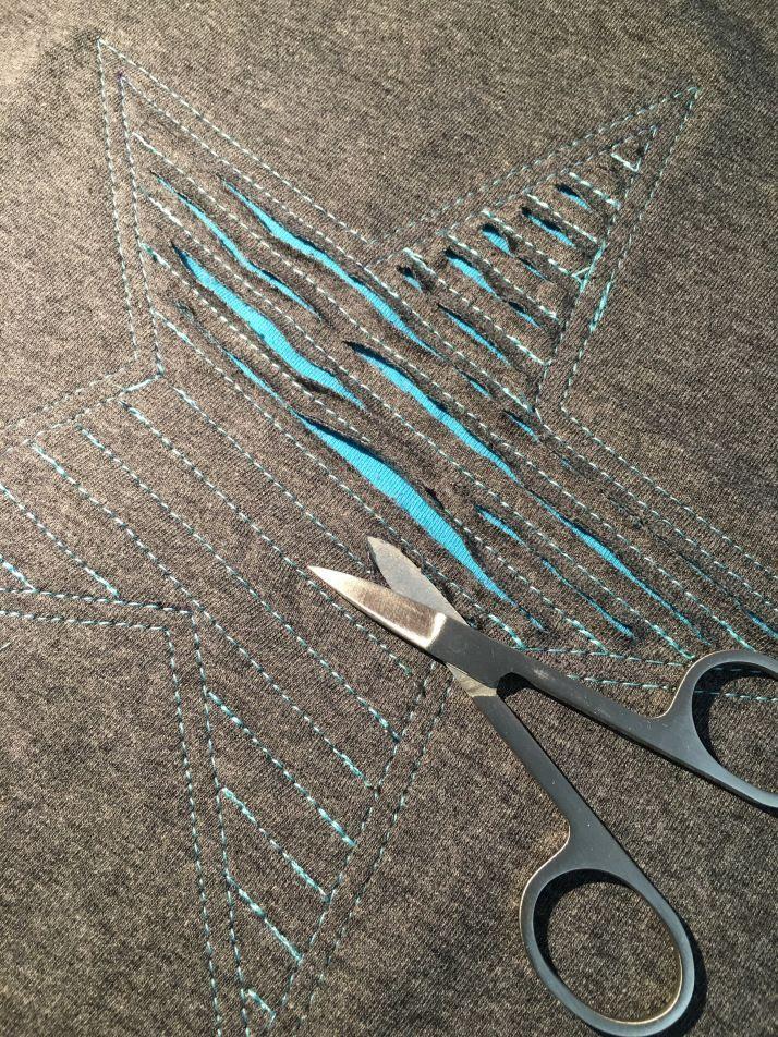 """Tutorial på """"trasig"""" applikation – – Fabric Craft"""