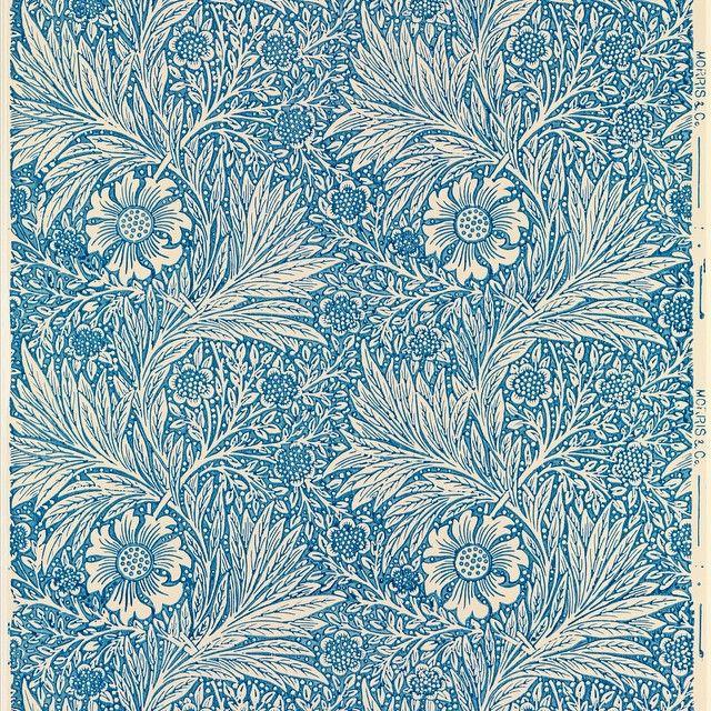 William Morris (British, 1834-1896). Marigold, designed ca. 1875