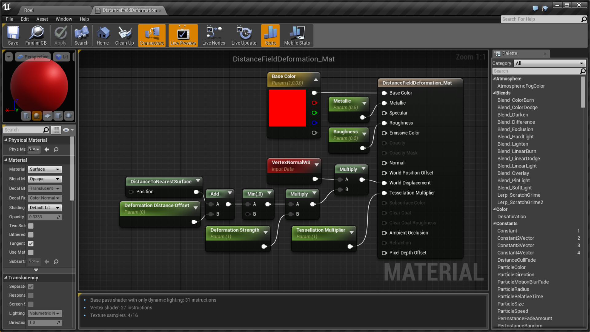 Ue4 Distance Field Soft Bodies 2 2 By Roel Bartstra If You