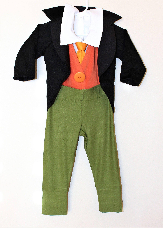 Jiminy Cricket Costume Jiminy Cricket Toddler Jiminy Cricket Kids Children S Costume Halloween Childrens Costumes Halloween Costumes For Kids Toddler Costumes
