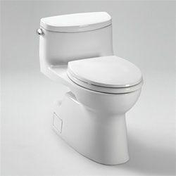 Carolina Ii One Piece Toilet 1 28 Gpf Elongated Bowl Toto Toilet Toilet Prices Toilet