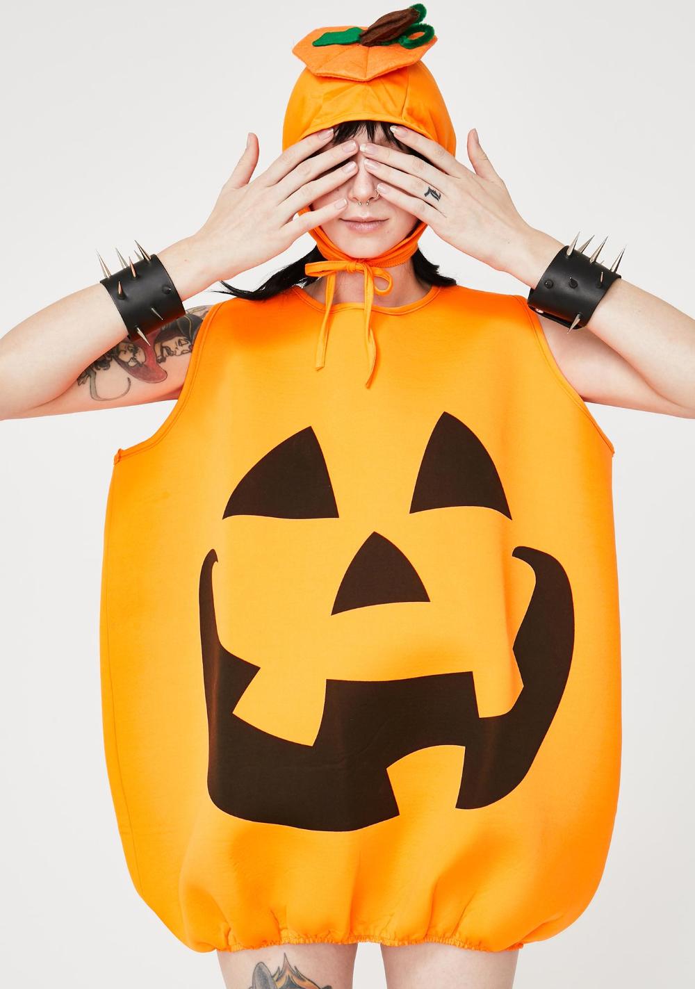 Halloween Jack O Lantern Costume Dolls Kill Pumpkin