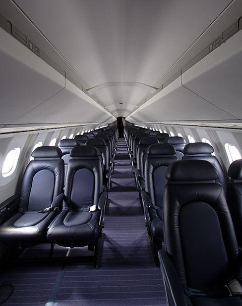 Concorde Plane Interior Concorde