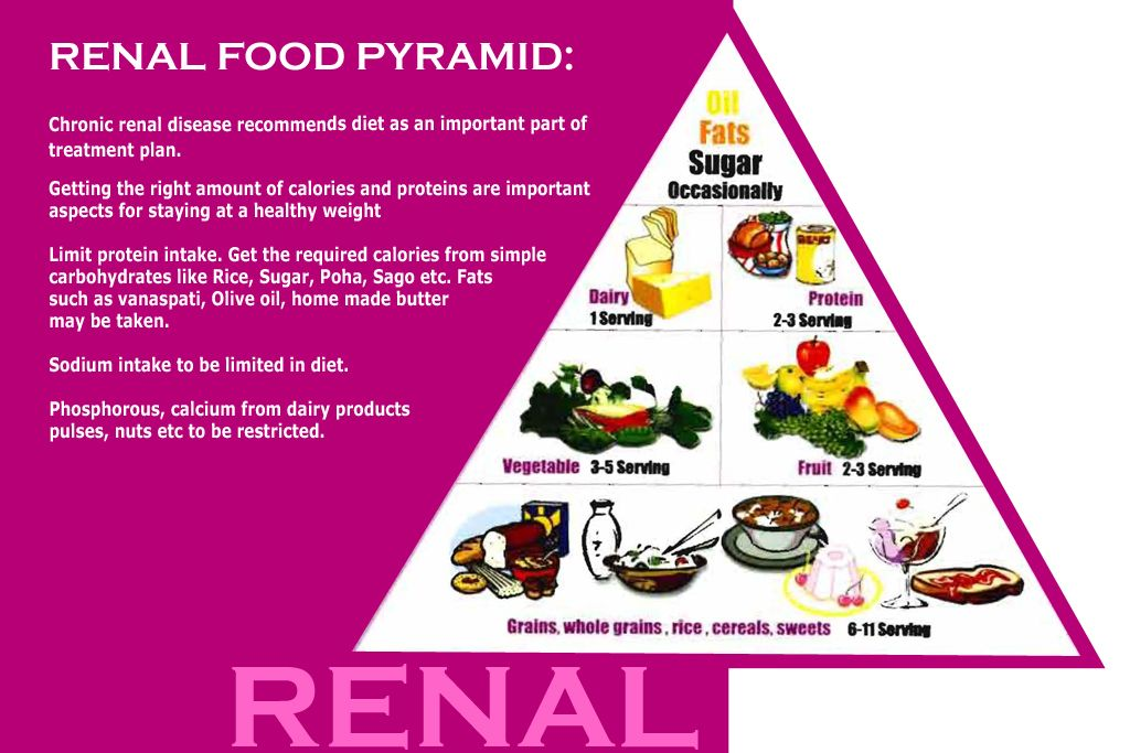 who is a renal diet for