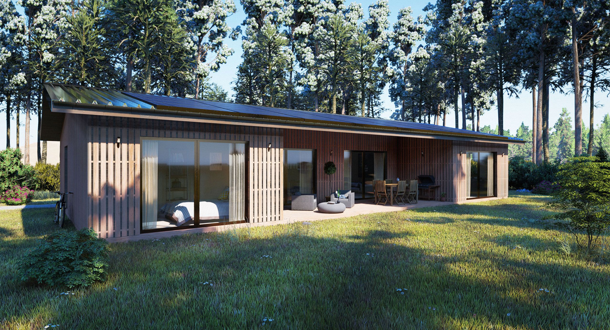 Plan De Maison Bois Plain Pied Infos Et Ressources