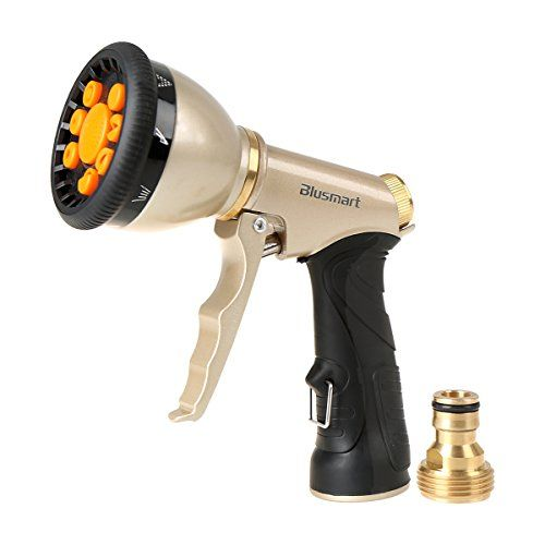 Blusmart High Quality Hose Nozzle Hand Sprayer 9 Spray