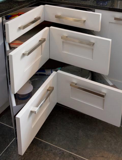 Pin By Angeli Menon On Kitchen Ideas Kitchen Remodel Small Kitchen Corner Storage Kitchen Design