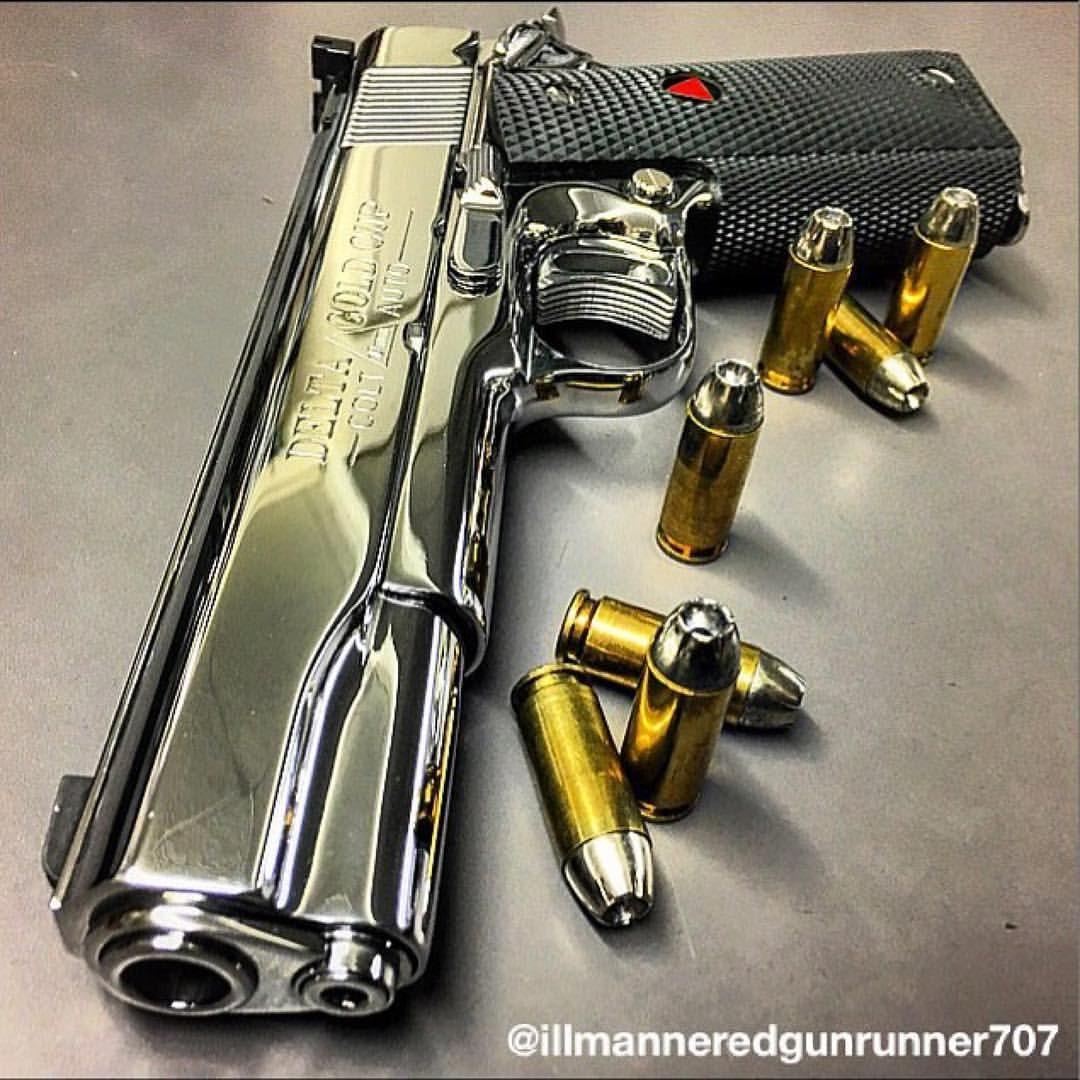 Colt Delta Elite Gold Cup 10mm Pistol  High polish work | Old