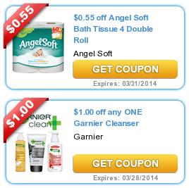 COUPONS.com $$ New Printable Coupons: Angel Soft, Garnier, Blistex + More (2/8)!