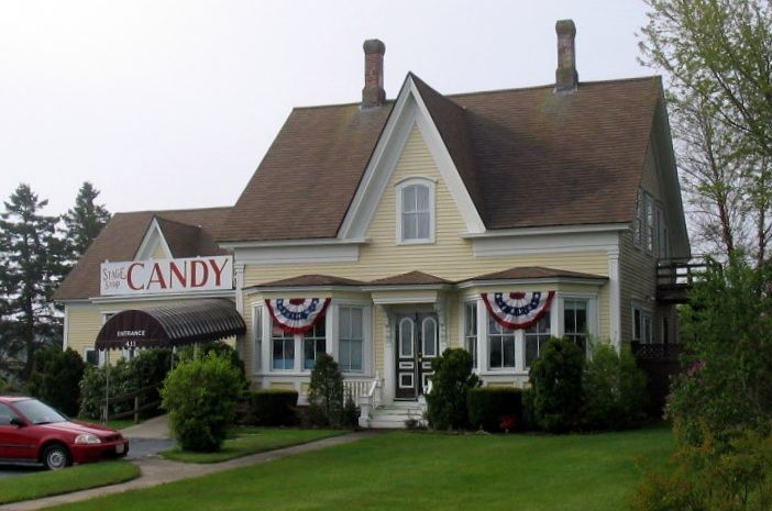 Stage Stop Candy Store Dennis Cape Cod Yarmouth House Styles
