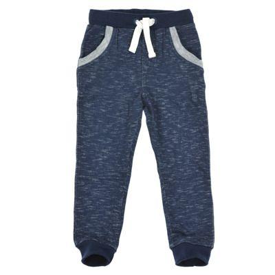 MINYMO wąskie podwijane bawełniane spodnie dresowe 150479 EVAN 79