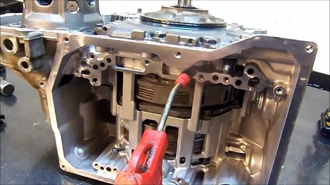 09g Tf60sn Transmission Re Assembly Transmission Repair