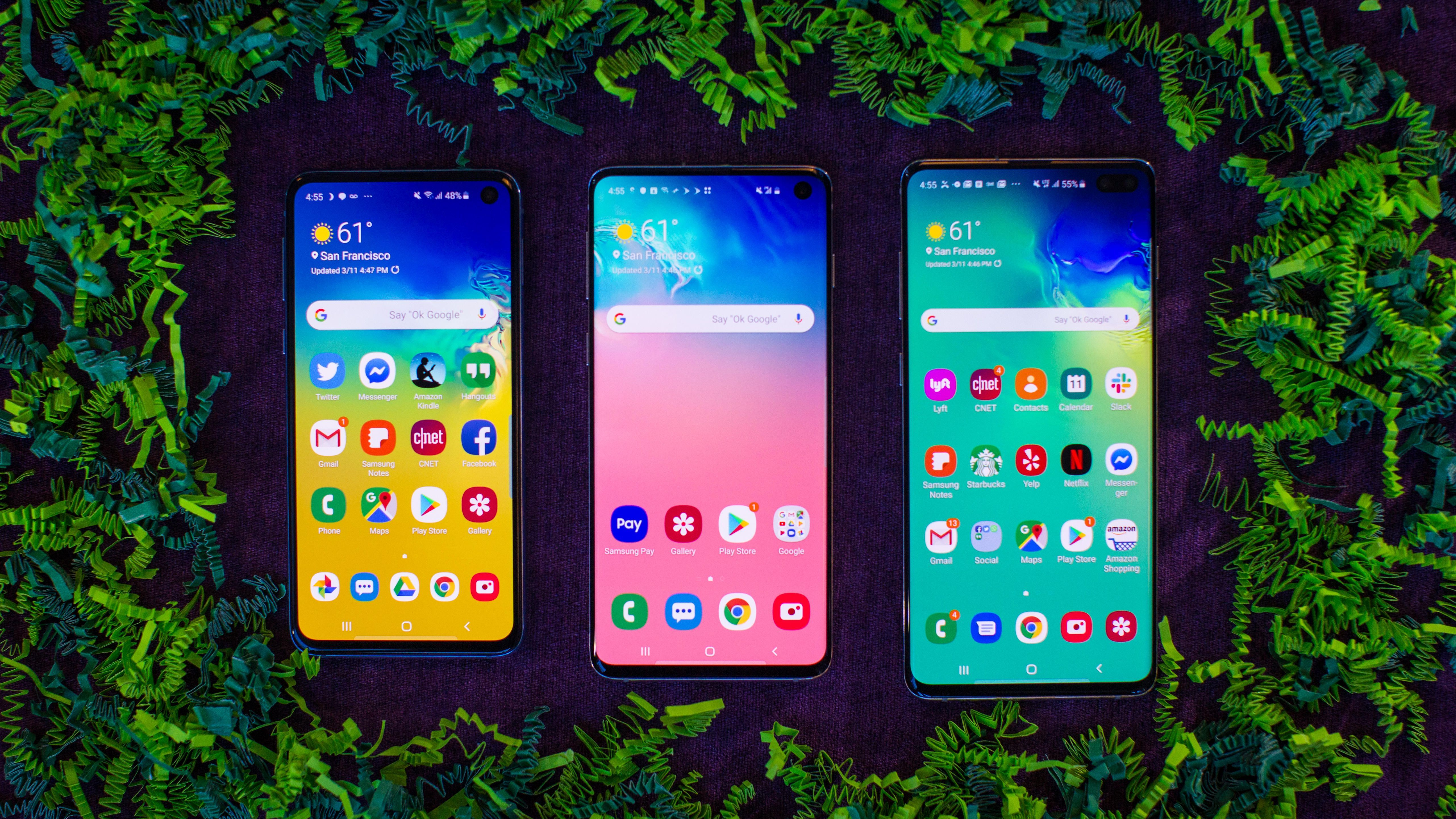 Galaxy S10 vs. Galaxy S9, S10 Plus, S10E, S10 5G: What's new and what's different?