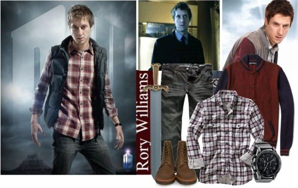 """""""Mr. Pond (Rory Williams)"""" by marylinopen ❤ liked on Polyvore"""