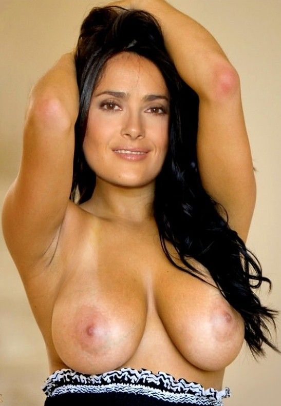 Salma hayek tits and pussy join. All