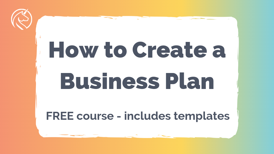 Create a business plan for your online business, with this