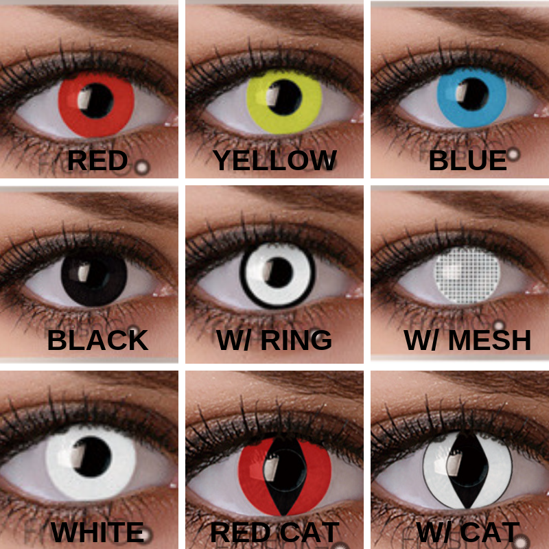Costume and Cosplay Contact Lenses #coloredeyecontacts