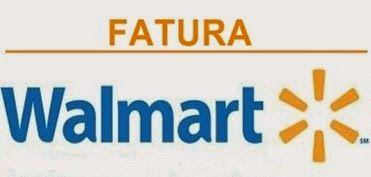 Walmart Itaucard 2 0 Nacional Hiper Fatura Fatura Do Cartao Carta
