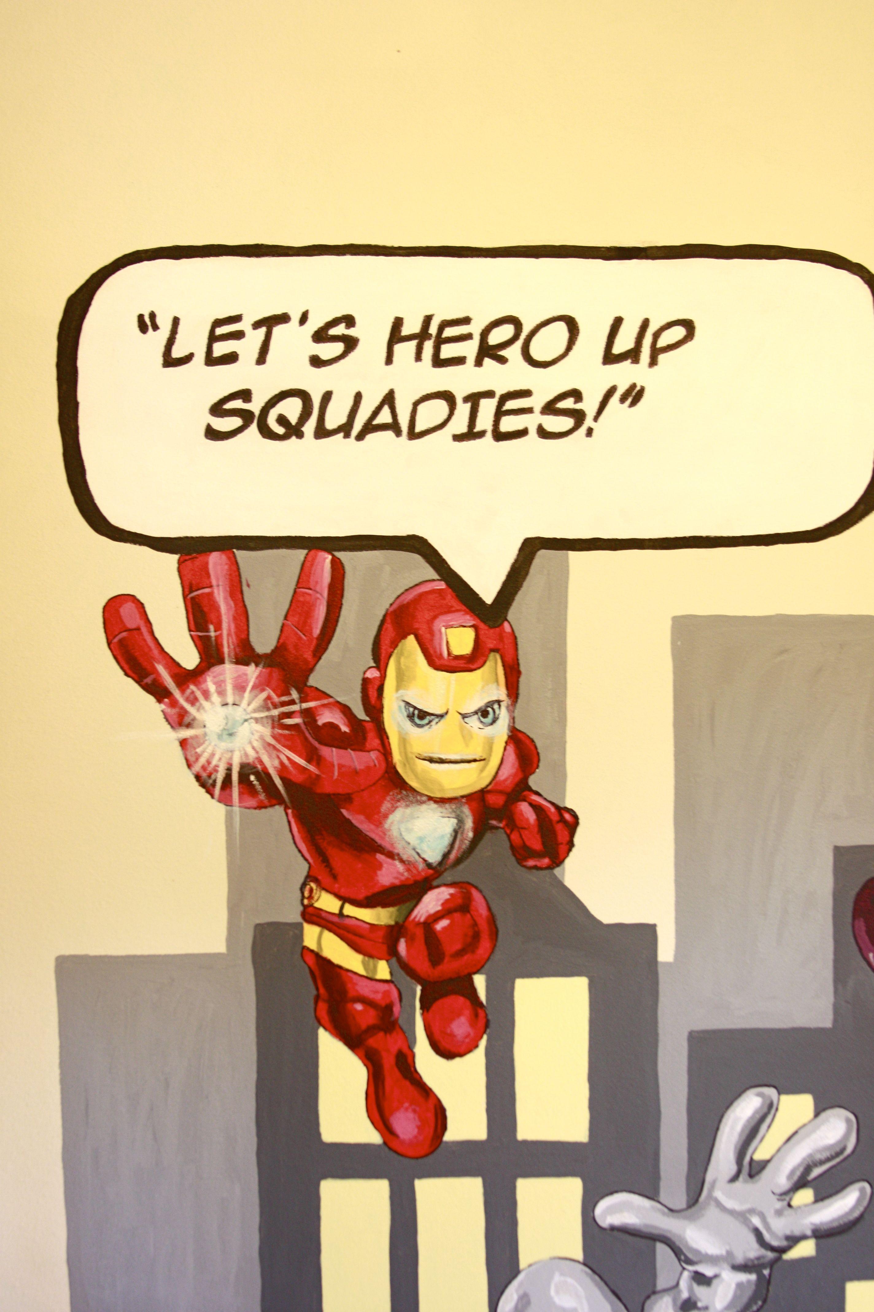 Super Hero Squad Iron Man Hero up, Hero, Marvel