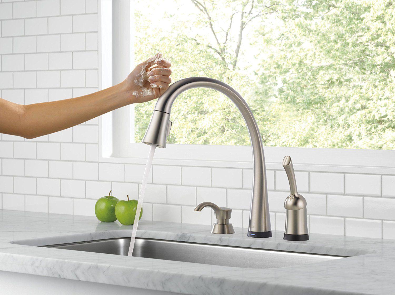 Erstaunliche Delta Ashton Küche Wasserhahn