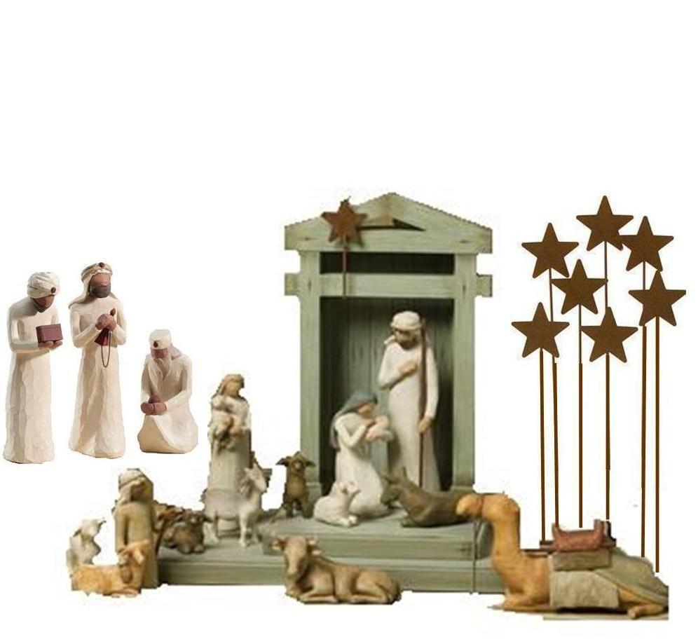 Crèche de Noël Willow Tree | Creche de noel, Crèche, Noel