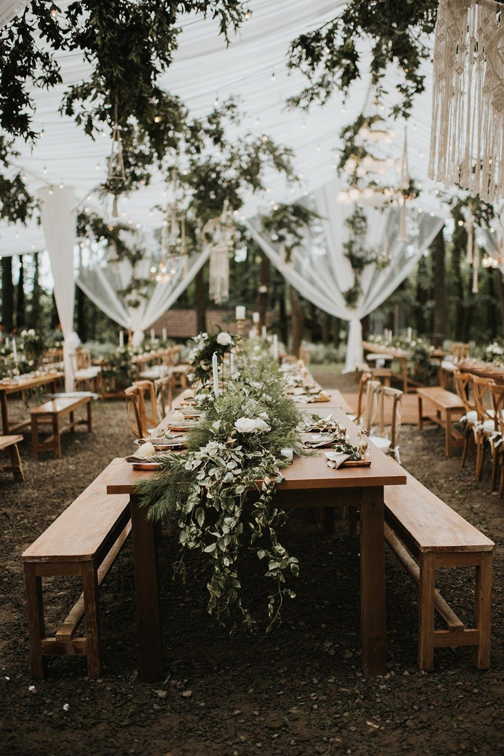 A Twilight-inspired Forest Wedding in Java, Indonesia