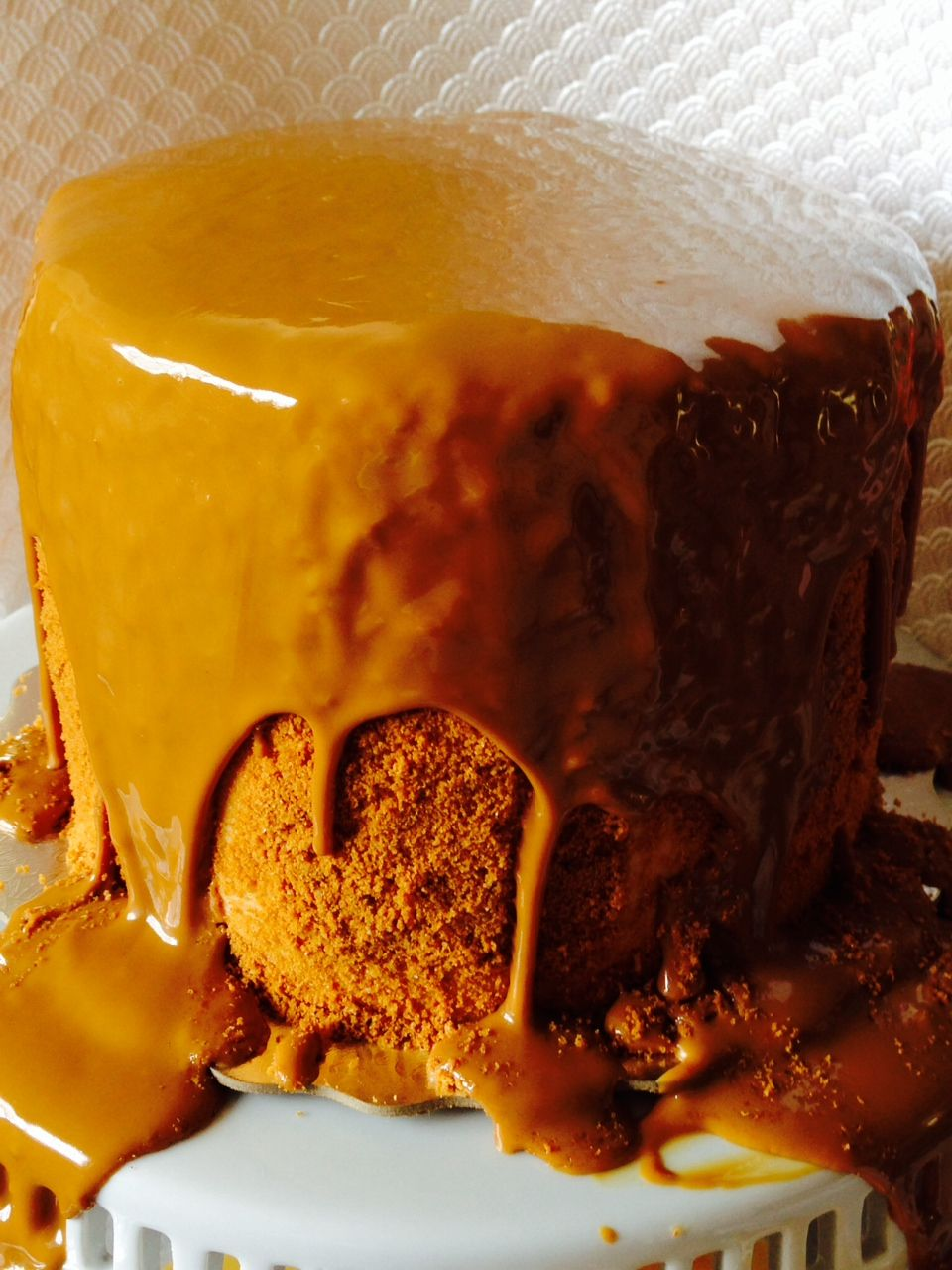 Biscoff Cookie Spread Transformed Into…Cookie Butter Lover's Cake | Graciously Sweet