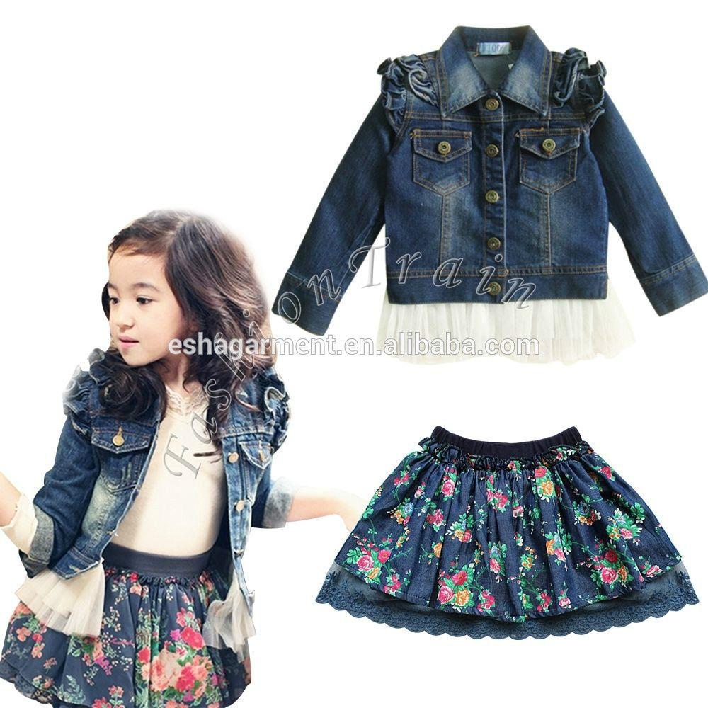 56b2e486e vestidos de jean para niña - Buscar con Google