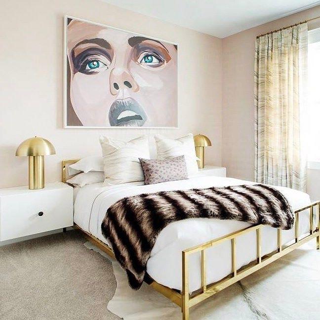 Best Room Crush Wednesday Featuring Cb2 Alchemy Bronze Bed 640 x 480