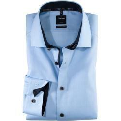 Olymp Luxor Hemd Cf Dessin Hellblau Olympolymp #modefürfrauen