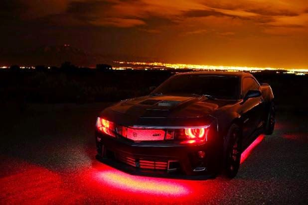 Wouldn T You Like To Look This Good In The Morning Custom Oracle Lighting Installation By Southwest Speed On A Cam Camaro Zl1 Light Installation Cool Cars