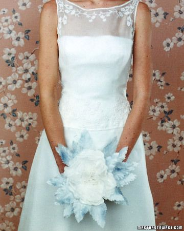 Blue Wedding Bouquets Wedding Winter Wedding Attire Wedding