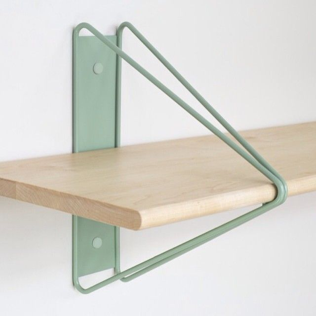 Strut Shelving System in Multiple Colors | Shelves, Interiors and ...
