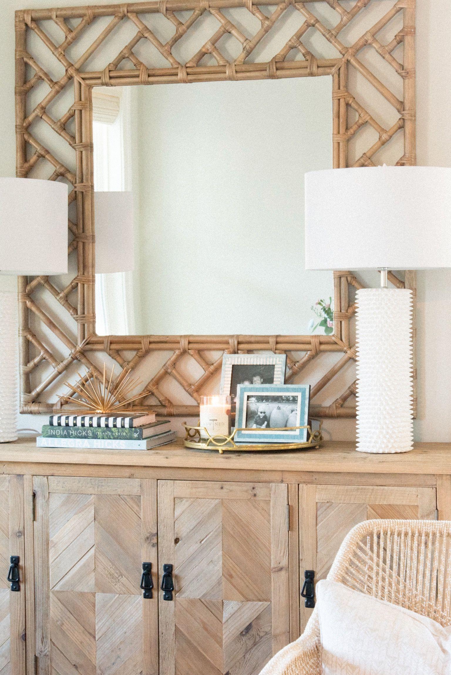 Virtual Design Living Room: #designsbymeganmac #brightboho #whitetablelamps
