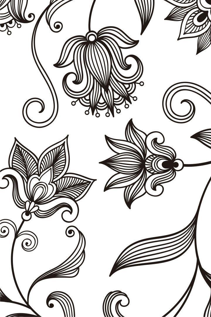 Mandala descargable para colorear 3 | Dibujos | Pinterest | Colorear ...