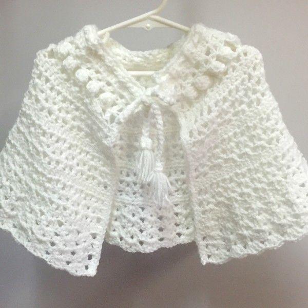 Crochet Pattern - Easter Shawl for Girls | Crochet Ideas and