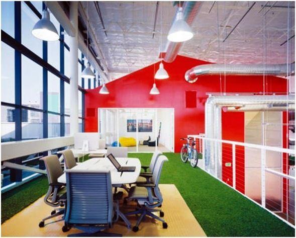 Interieur Design Neuen Super Google Zentrale | Möbelideen