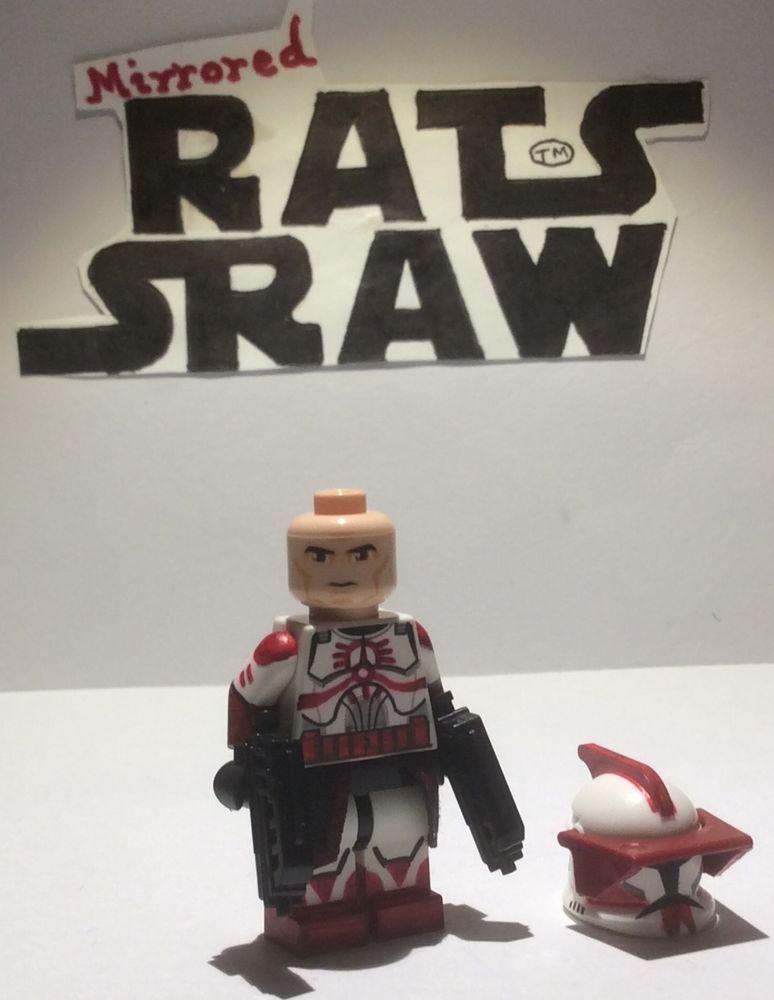 Lego Star Wars minifigures - Clone Custom Troopers Commander Fox ...