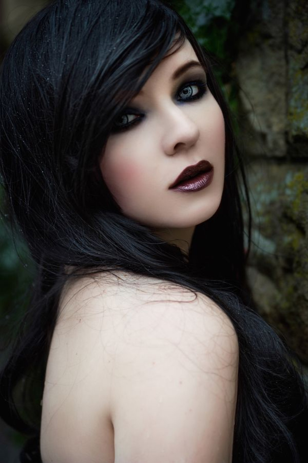 Pin by Ed Poe on Lipstick Traces Goth beauty, Gothic