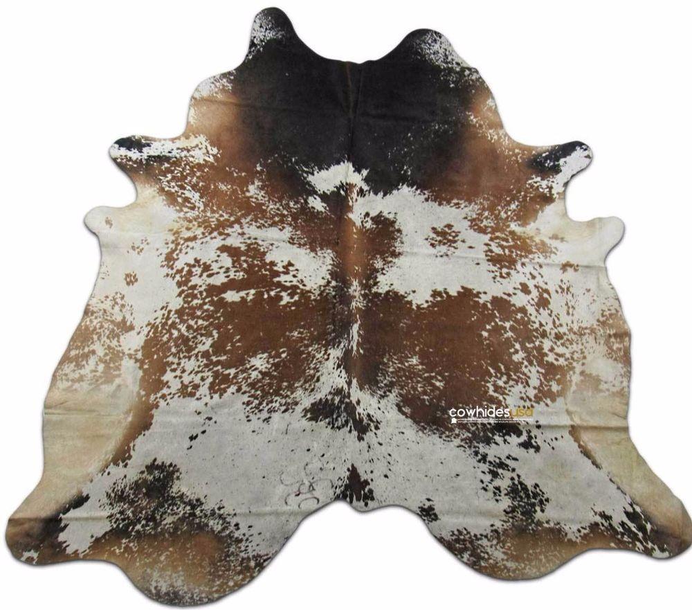 Longhorn Cowhide Rug Size 8 X 74 Ft Speckled Cow Hide Rug E 535