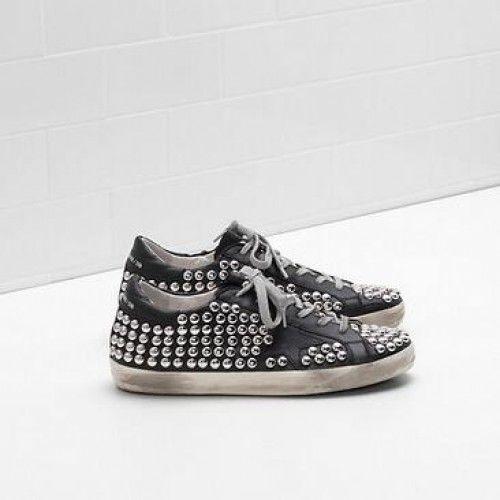 Uomo Sneakers Scarpe Golden GGDB 2017 Goose Goujons nero Superstar wx7YCxzX