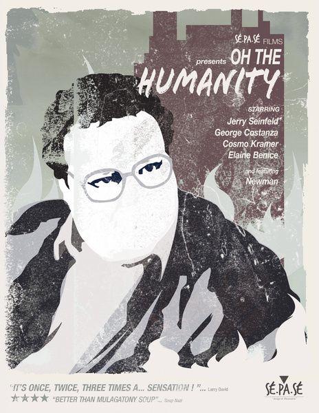 Art print POSTER Jerry Seinfeld 3