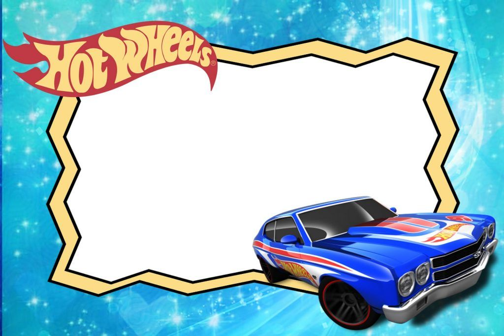 Free Printable Hot Wheels Invitation Templates For Download Twins