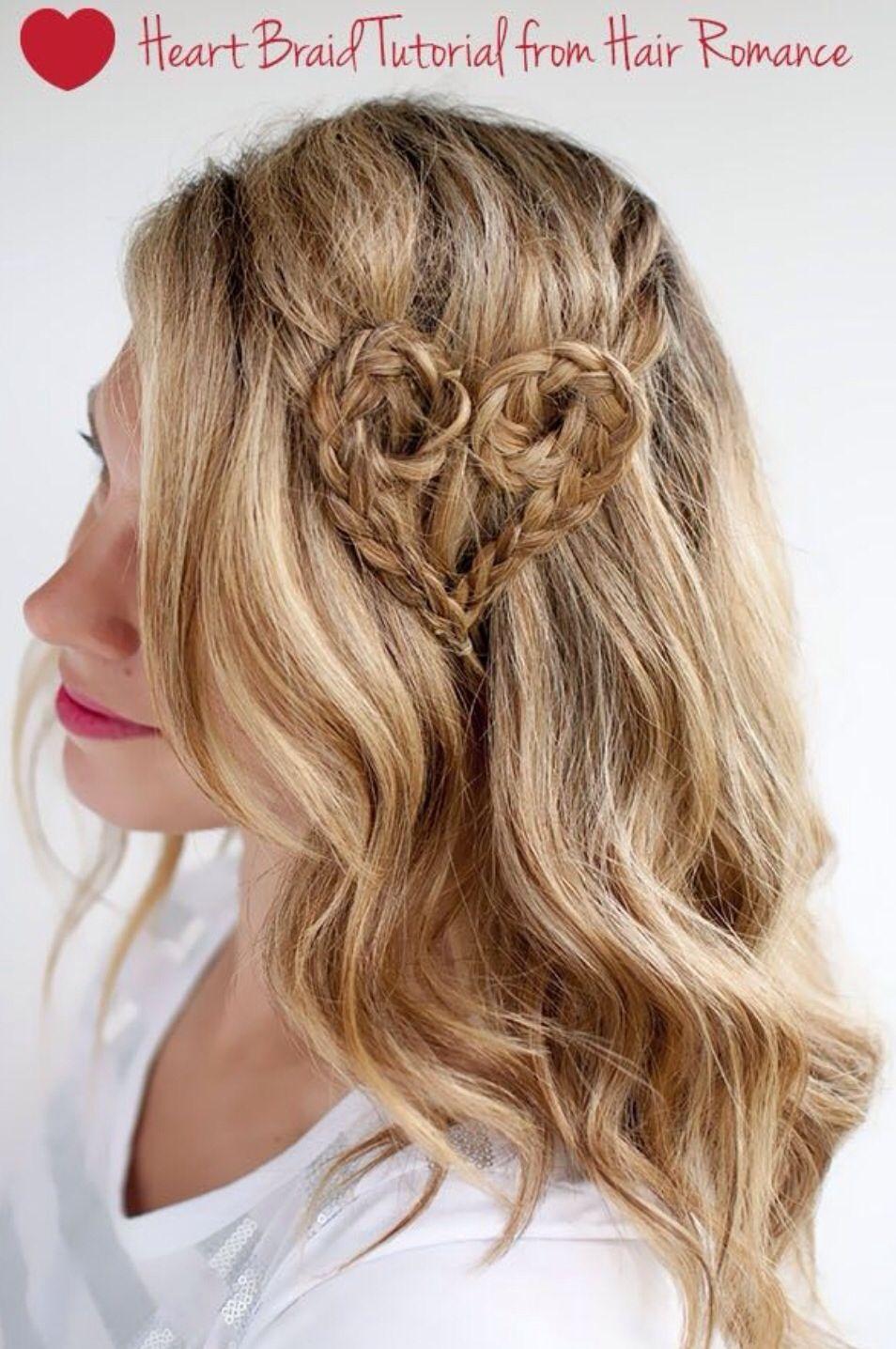 #heart #love #braid #plait #romance #hair #aesthetics #hairandbeauty #midlandshairdresser  http://aesthetics-solihull.com