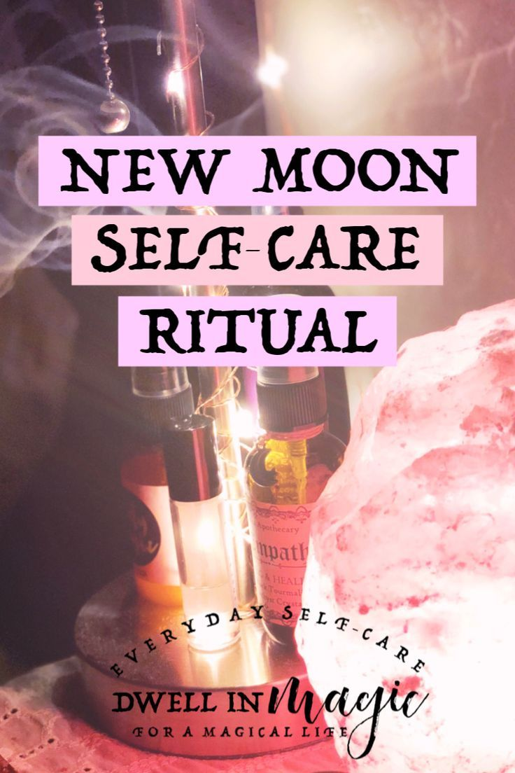 A New Moon Ritual for Intention Setting and Manifestation #newmoonritual